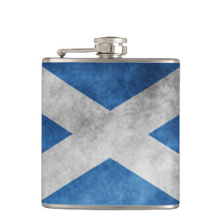Scotland Grunge- Saint Andrew s Cross Flasks