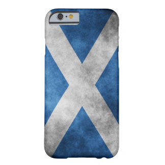 Scotland Grunge- Saint Andrew's Cross Barely There iPhone 6 Case