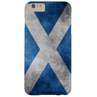 Scotland Grunge- Saint Andrew's Cross Barely There iPhone 6 Plus Case