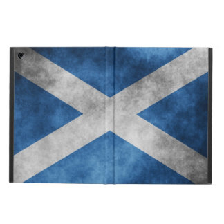 Scotland Grunge- Saint Andrew's Cross Case For iPad Air