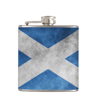 Scotland Grunge- Saint Andrew's Cross Hip Flask
