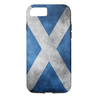 Scotland Grunge- Saint Andrew's Cross iPhone 7 Case