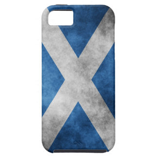 Scotland Grunge- Saint Andrew's Cross iPhone SE/5/5s Case