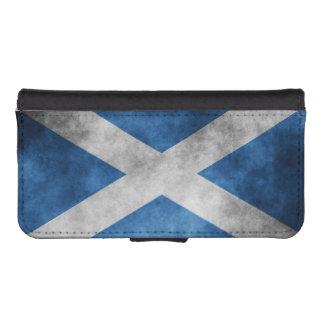 Scotland Grunge- Saint Andrew's Cross Wallet Phone Case For iPhone SE/5/5s