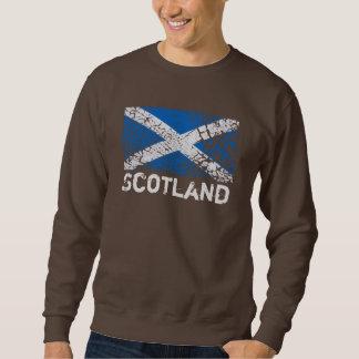 Scotland + Grunge Scottish Flag Sweatshirt