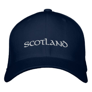 Scotland hat - a quality Scottish souvenir Embroidered Hats