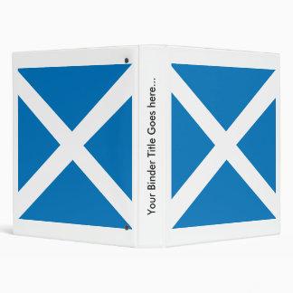 Scotland High quality Flag Vinyl Binder