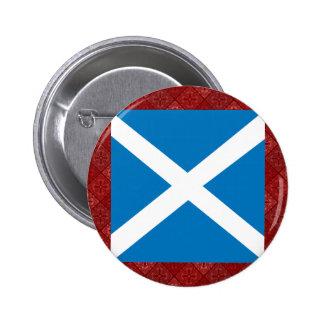 Scotland High quality Flag Button