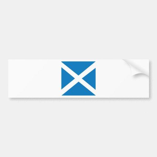 Scotland High quality Flag Car Bumper Sticker