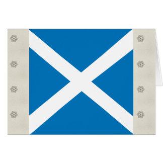 Scotland High quality Flag Greeting Card