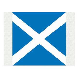 Scotland High quality Flag Postcard