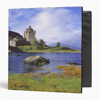 Scotland, Highland, Wester Ross, Eilean Donan 2 3 Ring Binder