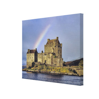 Scotland, Highland, Wester Ross, Eilean Donan 2 Canvas Print
