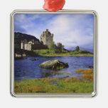 Scotland, Highland, Wester Ross, Eilean Donan 2 Metal Ornament