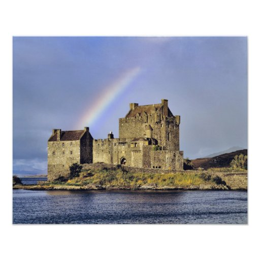 Scotland, Highland, Wester Ross, Eilean Donan 2 Photo Print