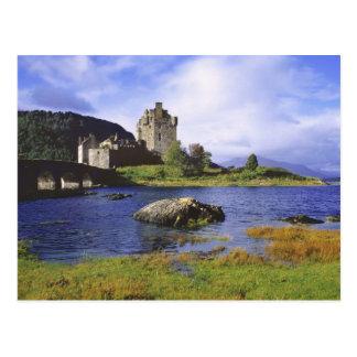 Scotland, Highland, Wester Ross, Eilean Donan 2 Postcard