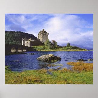 Scotland, Highland, Wester Ross, Eilean Donan 2 Poster