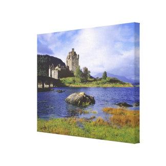 Scotland, Highland, Wester Ross, Eilean Donan 3 Canvas Print