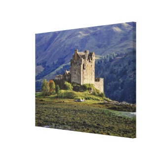 Scotland, Highland, Wester Ross, Eilean Donan Gallery Wrapped Canvas