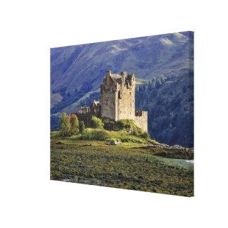 Scotland, Highland, Wester Ross, Eilean Donan Canvas Print