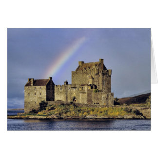 Scotland Highland Wester Ross Eilean Donan Greeting Card