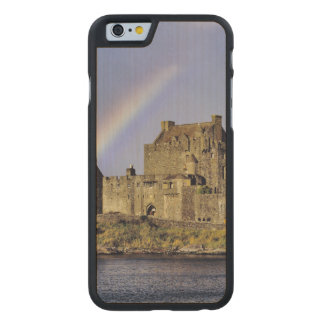Scotland, Highland, Wester Ross, Eilean Donan Carved Maple iPhone 6 Slim Case