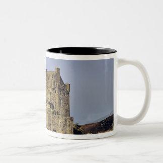 Scotland, Highland, Wester Ross, Eilean Donan Two-Tone Coffee Mug