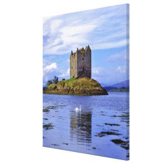 Scotland, Highland, Wester Ross, Loch Linnhe. A Canvas Print