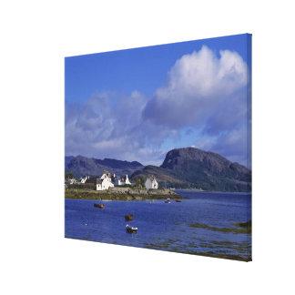 Scotland, Highland, Wester Ross, Plockton. Canvas Print