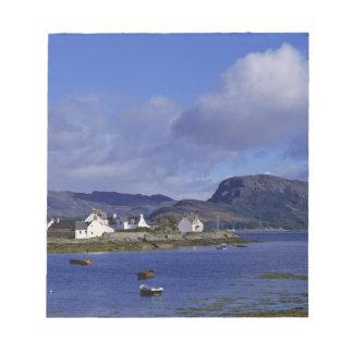 Scotland, Highland, Wester Ross, Plockton. Memo Note Pads