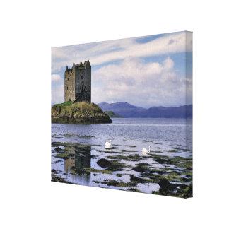 Scotland, Highland, Wester Ross, Stalker Canvas Print