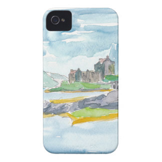 Scotland Highlands Fantasy and Eilean Donan Castle iPhone 4 Case-Mate Case