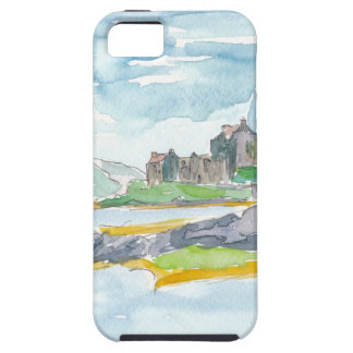 Scotland Highlands Fantasy and Eilean Donan Castle iPhone SE/5/5s Case
