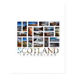 Scotland Impressions Postcard