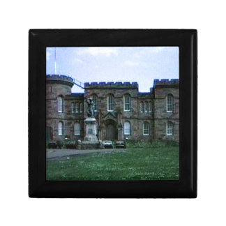 Scotland Inverness Castle Art snap-37689a  jGibney Keepsake Box