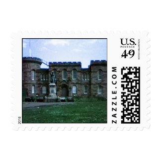 Scotland Inverness Castle Art snap-37689a  jGibney Postage