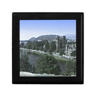 Scotland Inverness Castle Art snap-39210  jGibney Keepsake Box
