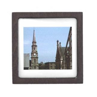Scotland Inverness Church Art1a snap-40380  jGibne Keepsake Box