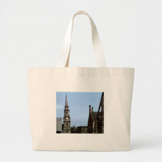 Scotland Inverness Church Art1a snap-40380  jGibne Large Tote Bag