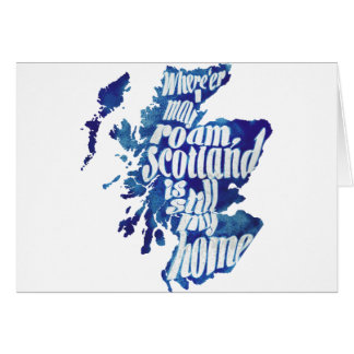 Scotland is my home card