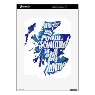 Scotland is my home decal for the iPad 2