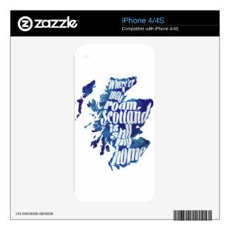 Scotland is my home iPhone 4S skin