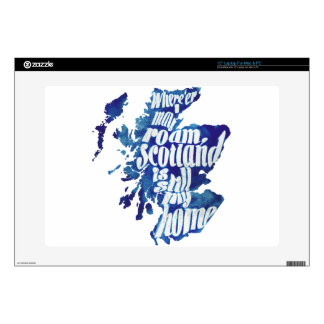 """Scotland is my home skins for 15"""" laptops"""