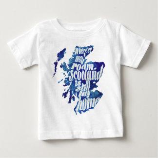 Scotland is my home tee shirt