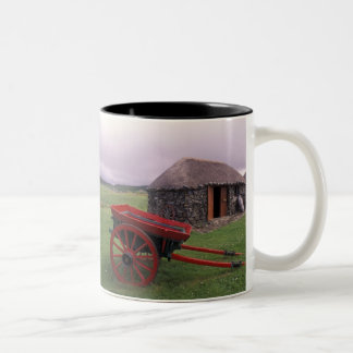 Scotland, Isle of Skye, Kilmuir. Rural landscape Two-Tone Coffee Mug