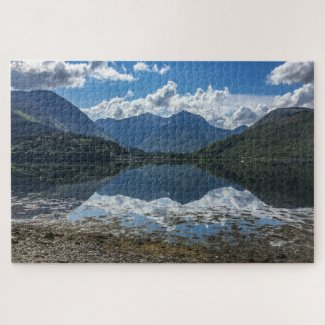 Scotland Jigsaw Puzzle – Loch Leven 2, Glencoe