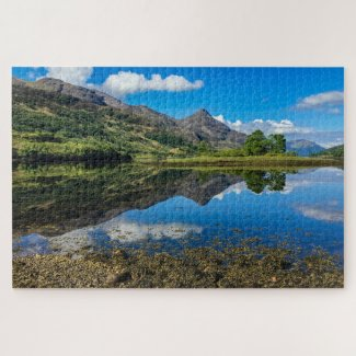 Scotland Jigsaw Puzzle – Loch Leven, Glencoe