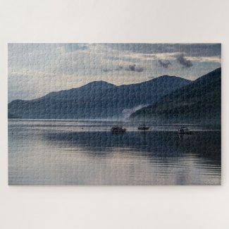 Scotland Jigsaw Puzzle – Loch Tay Clouds