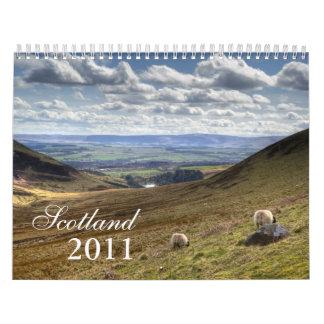 Scotland Landscape Calendar 2011