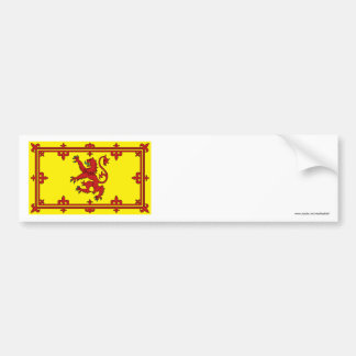 Scotland Lion Flag Bumper Sticker